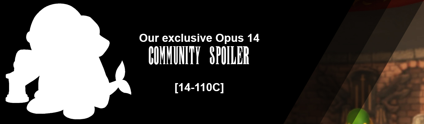 Our exclusive Opus XIV Community Spoiler