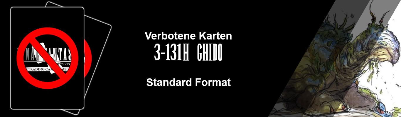 Verbote im Standard-Format: [3-131H] Ghido