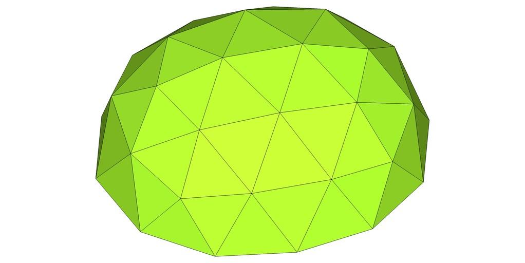 楕円形ドーム