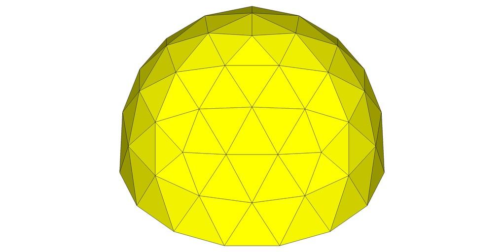 (正)15角形ドーム