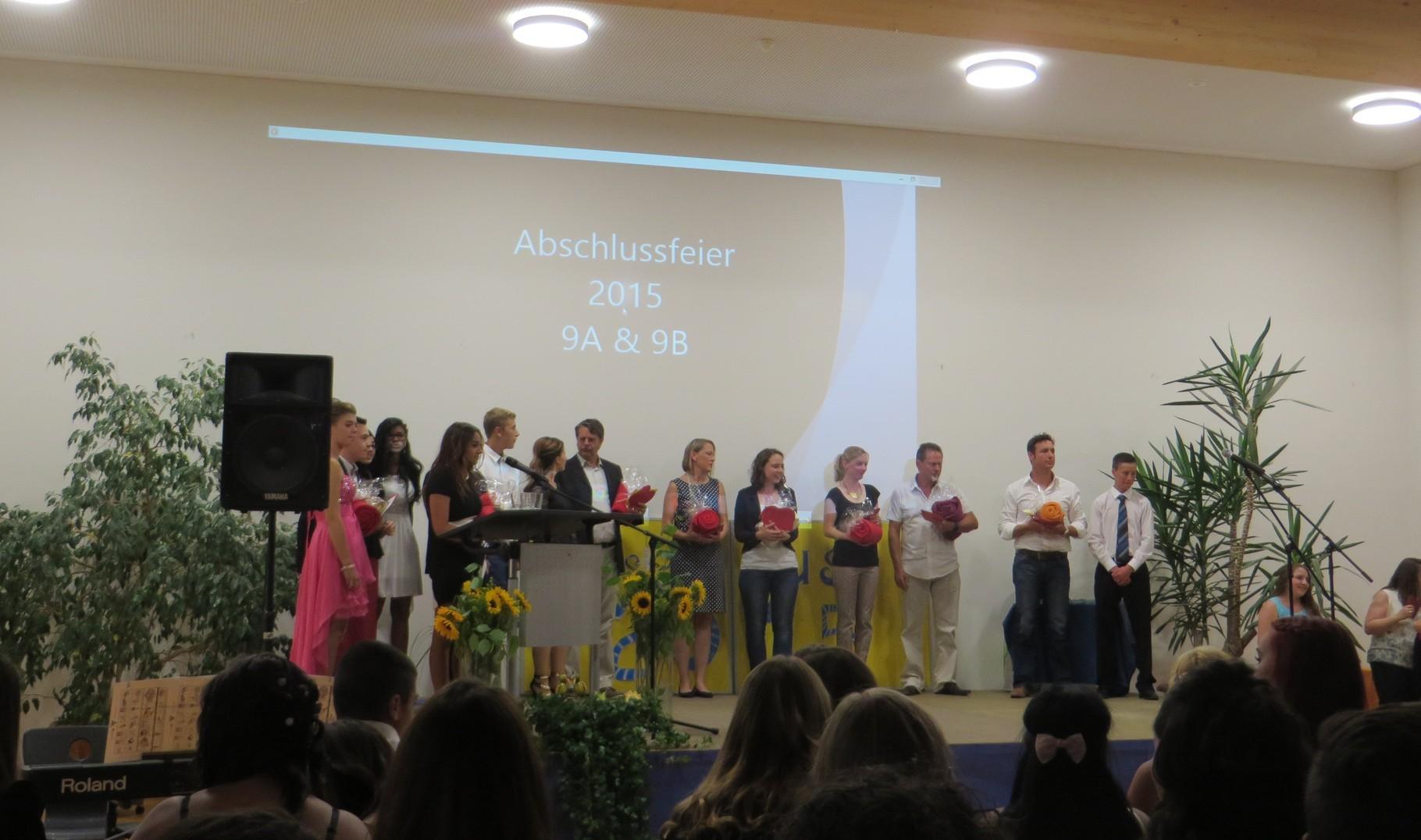 Abschlussfeier 2015