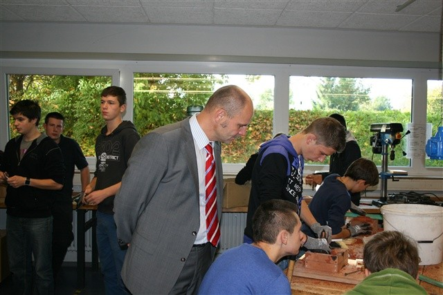 Bildungspartnerschaft zwischen der Beethovenschule und der GF
