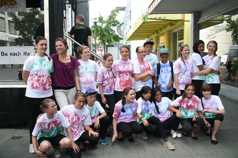 """Street-Dance-AG """"Hap Dance"""" am Singener Stadtfest"""
