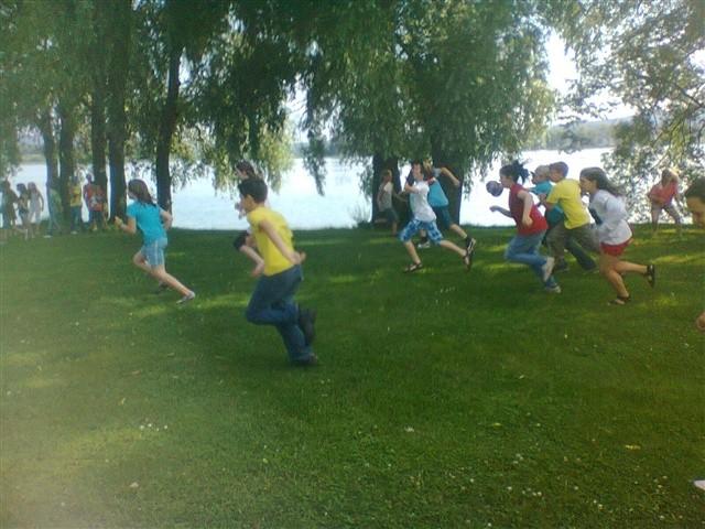 Klassenfahrt der vierten Klassen - 2012