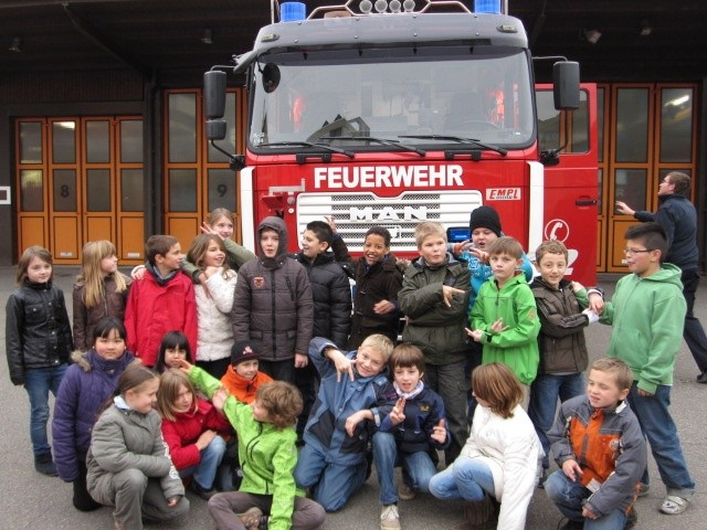 Die Feuerwehr -eine heiße Angelegenheit-
