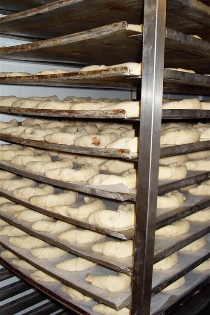 Besuch der Klasse 3c in der Bäckerei Künz