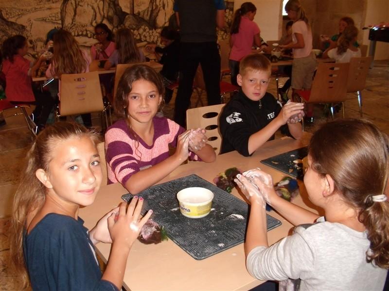 Klassenfahrt auf die Burg Wildenstein