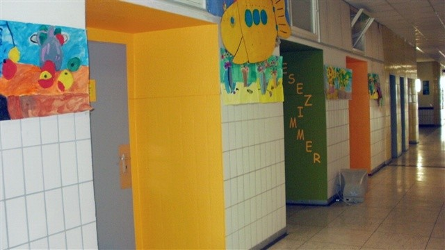 Verschönerung des Schulhauses