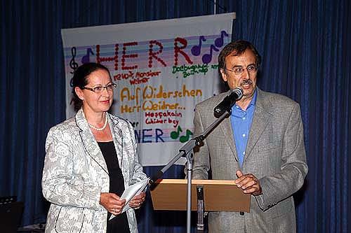 Abschied von Rektor Dieter Weidner