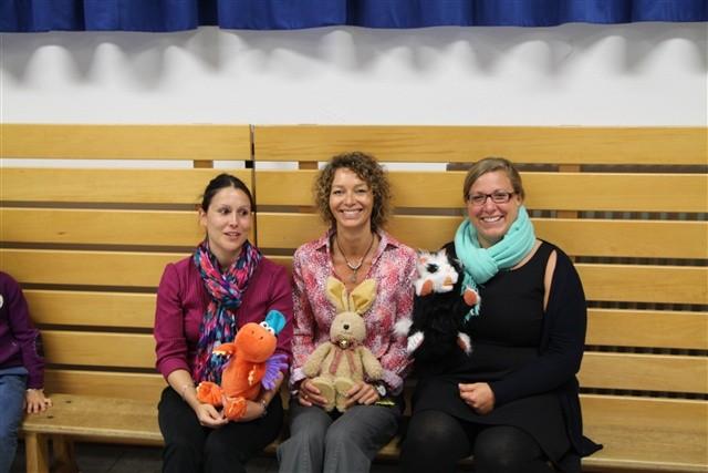 Frau Schrott (1c) ; Frau Strobel (1b) ; Frau Hug (1a)