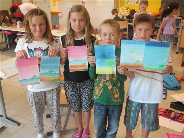 Künstlerbesuch in der Klasse 2c