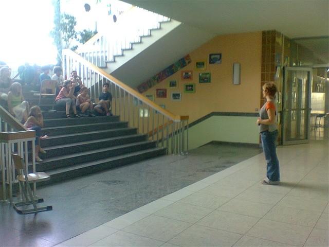 Besuch in der Englisch-Theater-AG
