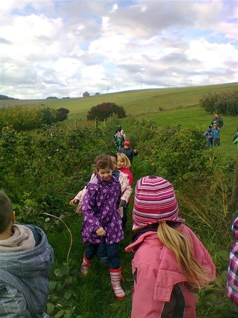 Rund um den Apfel - Lernort Bauernhof
