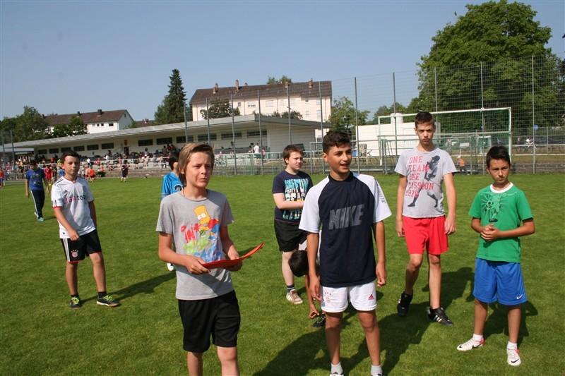 Bundesjugendspiele am 12. Juli 2013