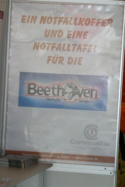 Notfallkoffer für die Beethovenschule