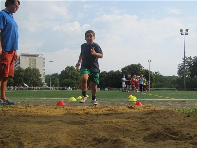Bundesjugendspiele 2012 - Grundschule