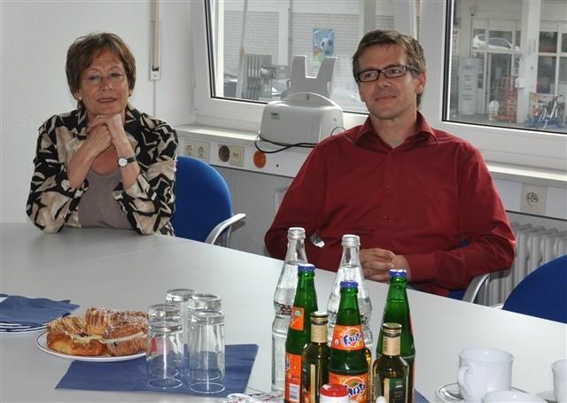Bildungspartnerschaft mit der Firma Widmann
