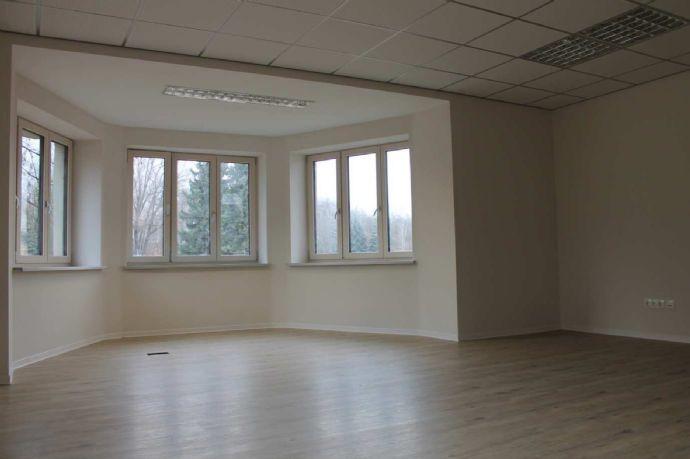 Büro mit Erker