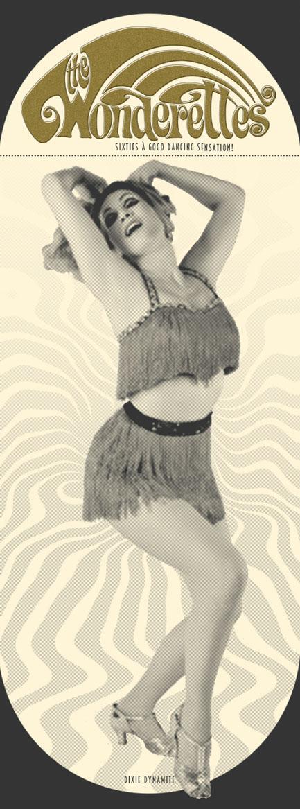 The Wonderettes Showgirls, Burlesque Tänzerin buchen, Retro-Entertainment, 1960er Jahre Showeinlagen, 1950er Jahre, 1970er Jahre Disco GoGo, Bondgirls, Revuegirls, Space Age Showtanz buchen