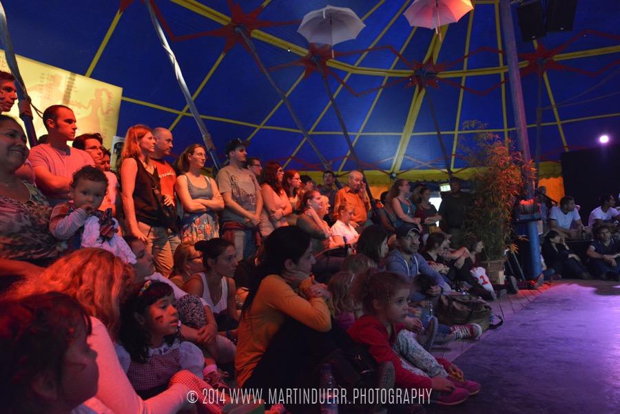 Reichlich Publikum: Tanzschüler-Show vom Vintage Dance Studio.
