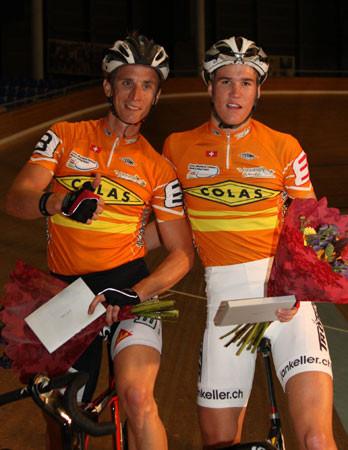 Drei Tage Rennen in Aigel, 3. Rang mit Jan Keller