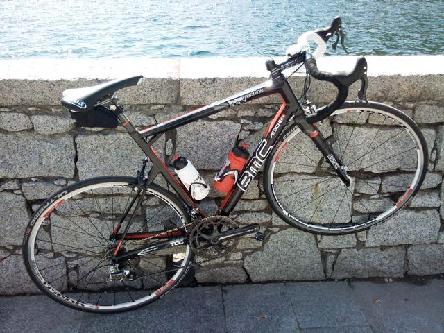 Mein Strassenrennrad der Saison 2011, natürlich von BMC!