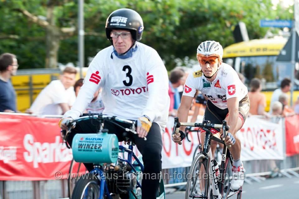 Derny Rennen Bergkamen ( Foto Klaus Hoffmann )