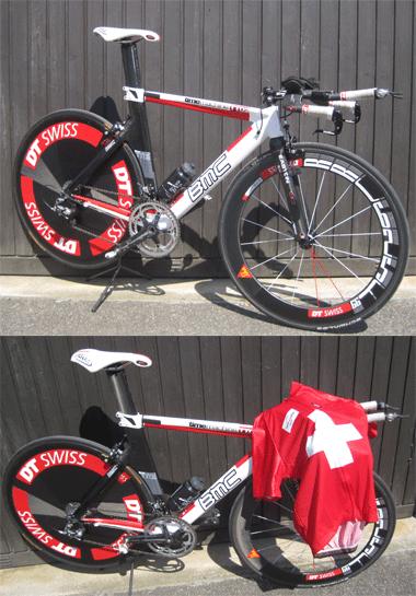 BMC Zeitfahrbike TT2, 2. Gesamtrang Elite und Schweizermeister Elite National, 2010