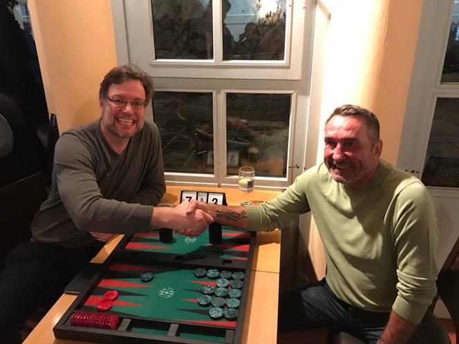 Tournament of Champions 2018 Sieger Thomas Löw (links) und Zweiter Anton Kraft