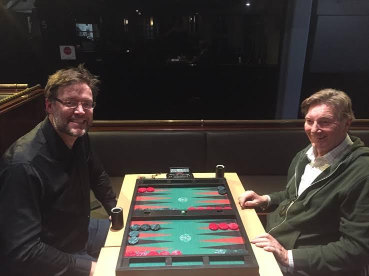 Thomas Löw (links) und der Sieger Günther Holzinger (rechts)