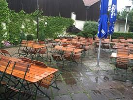Das Ende von Outdoor-Backgammon