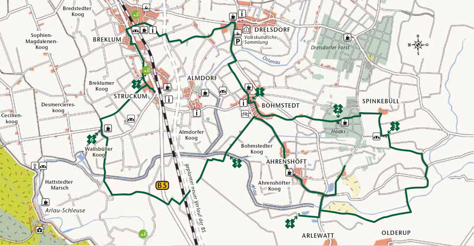 Söbenbargen Route