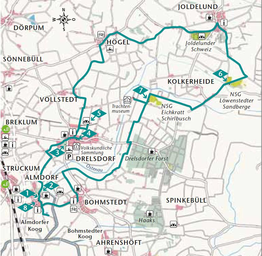 Ostenautal Route