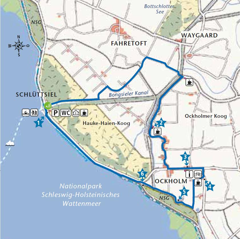 Hauke-Haien Route