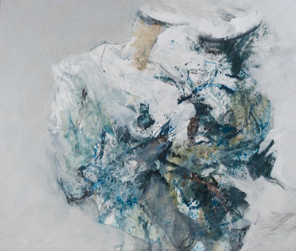 MT auf Leinen/ mixed media on canvas/ 200x235cm