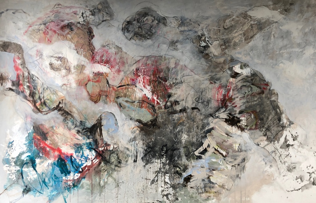 MT auf Leinen/mixed media on canvas/ 200x300cm