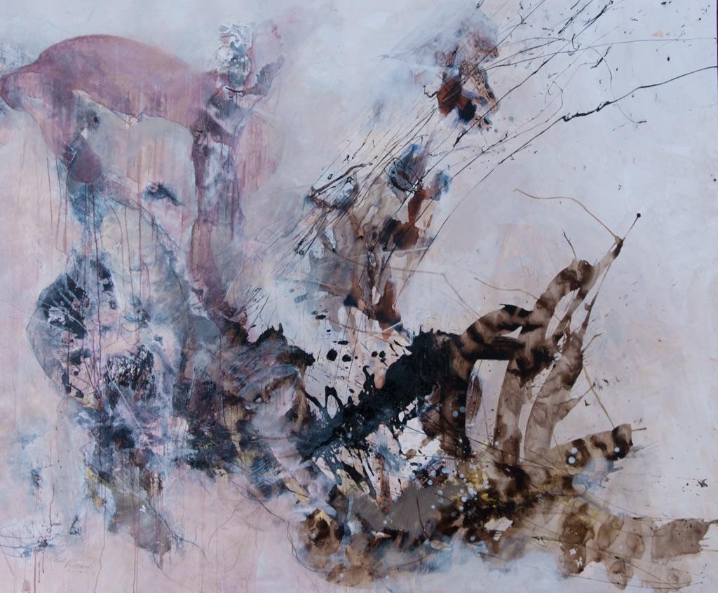MT auf Leinen/ mixed media on canvas/ 200x240cm