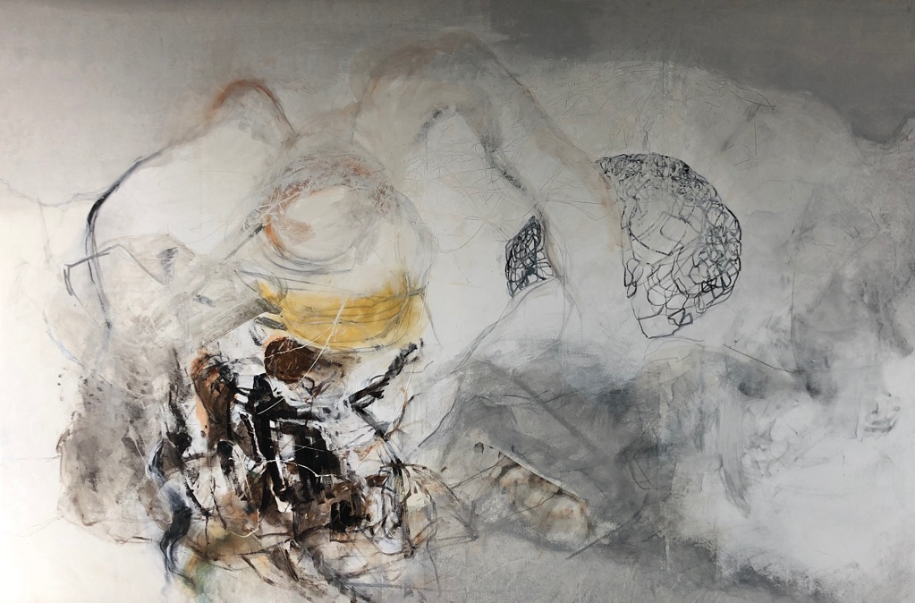 MT auf Leinen/mixed media on canvas/200x300cm