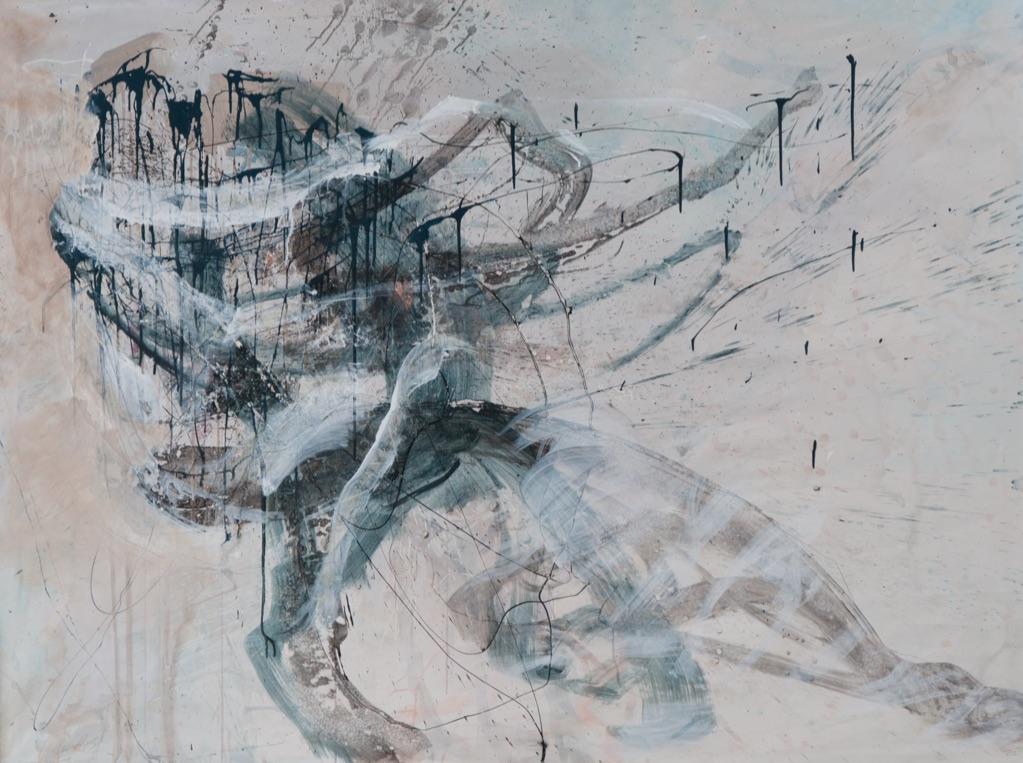 MT auf Leinen/ mixed media on canvas/ 150x200cm