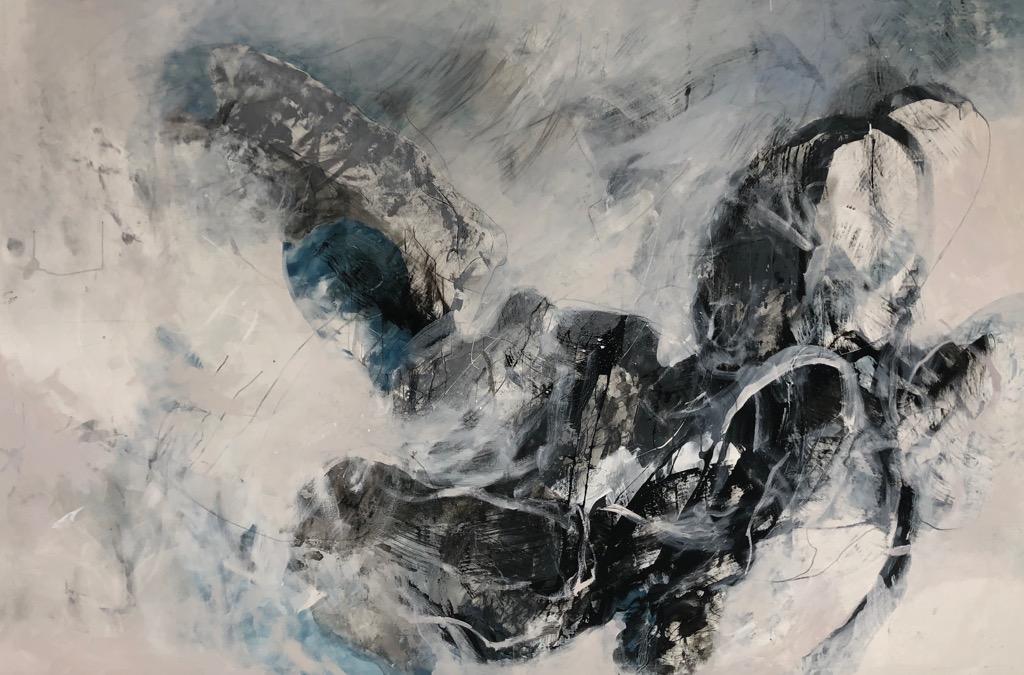 MT auf Leinen/mixed media on canvas/200x300cm