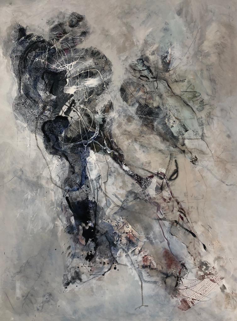 MT auf Leinen/mixed media on canvas/200x165cm