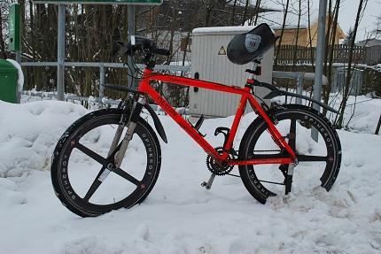 MTB - Trainingsgerät für den Winter