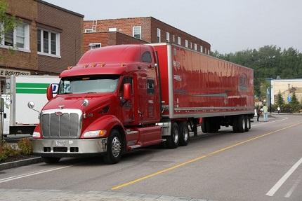 Ami Truck, mit unserem Material