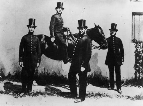 1850, über 100 Jahre nach den ersten Detektiven: Nachfolger der Bow Street Runners in London