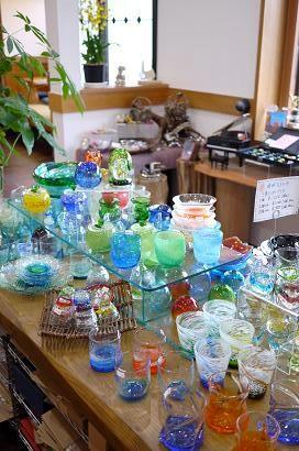 器と珈琲 Lien りあん のギャラリー: 琉球ガラス