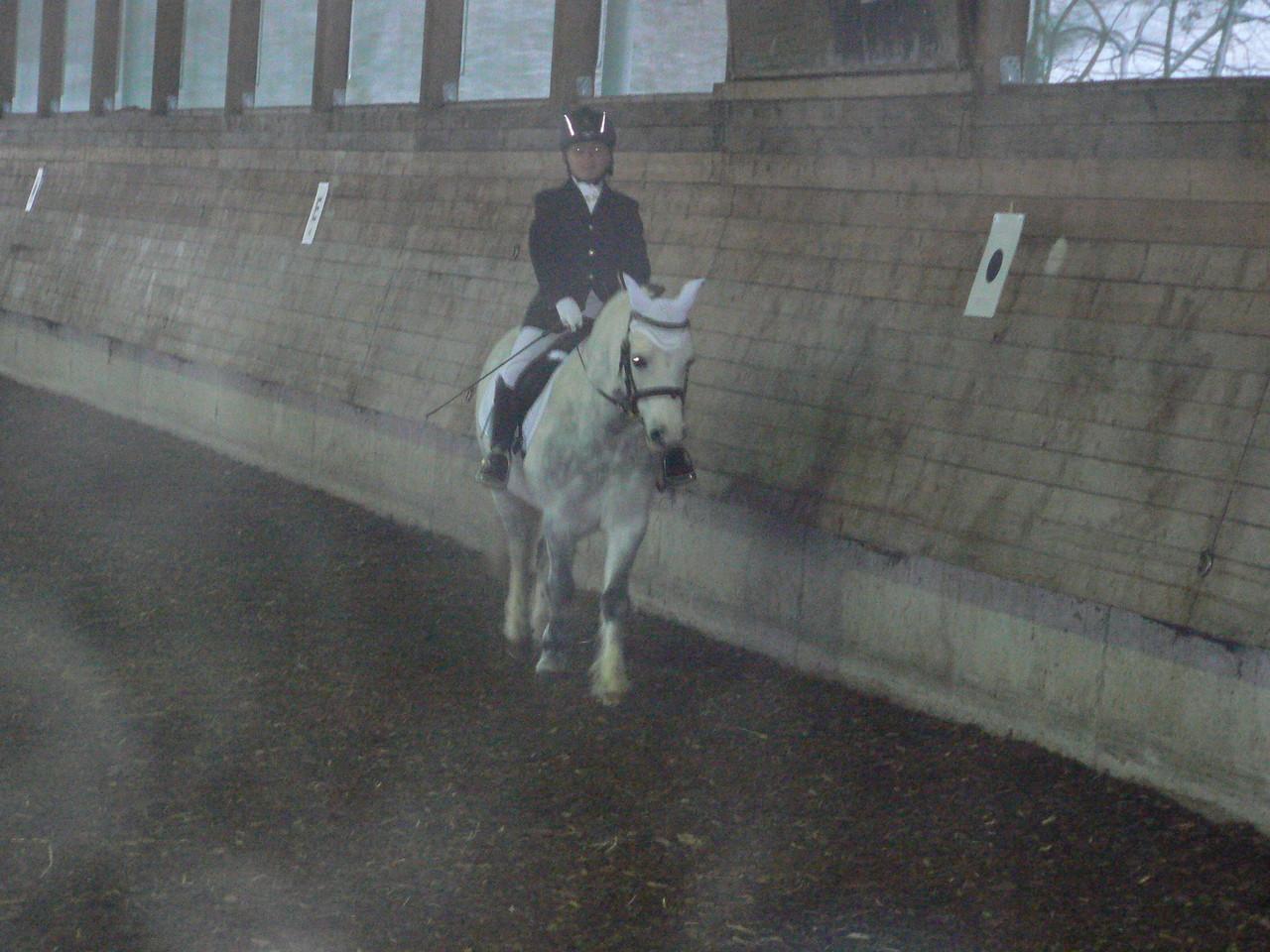 Lisa mit ihrem Pony Magic-Max