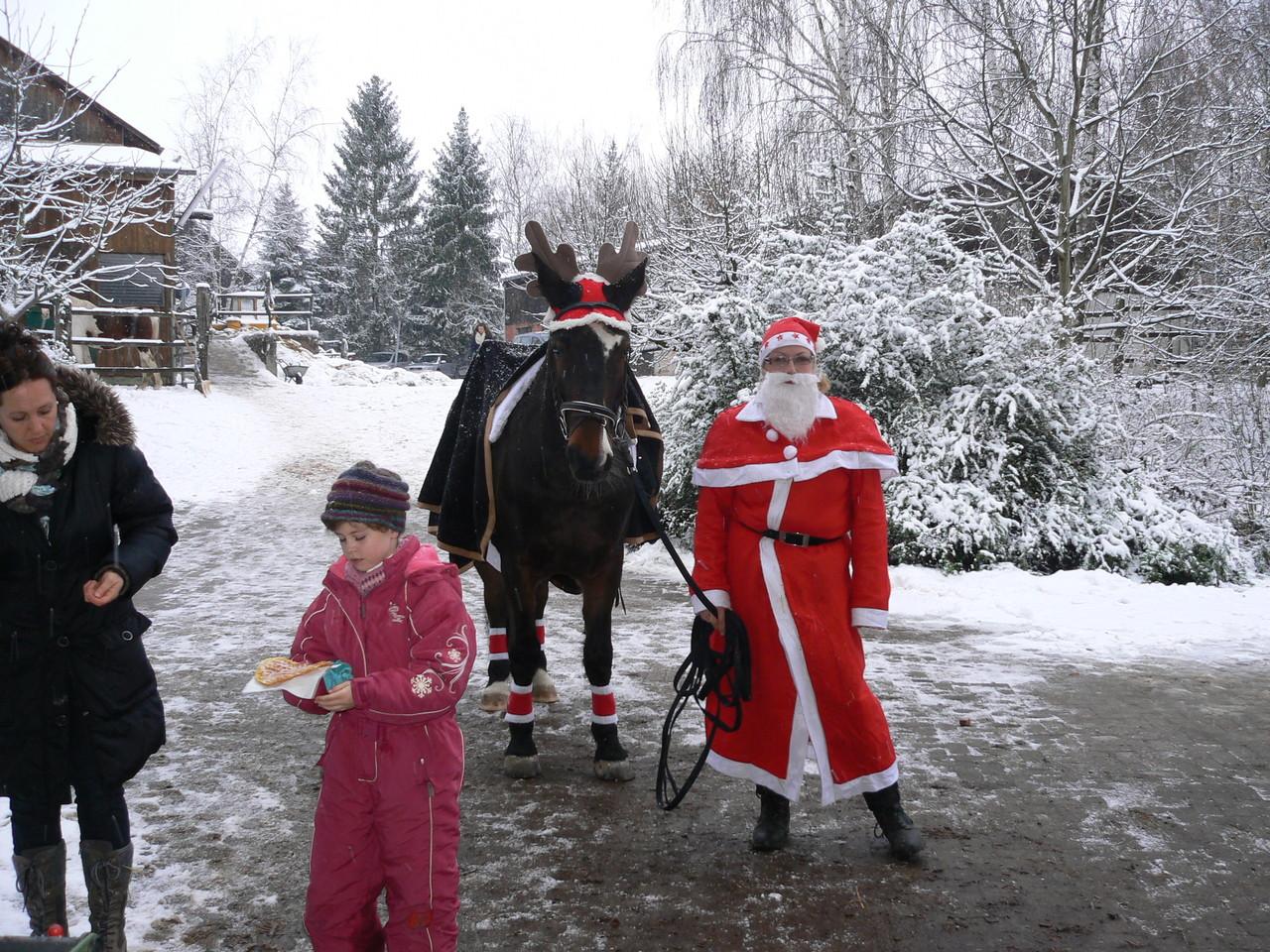 Rudolph das Rentier und der Weihnachtsmann