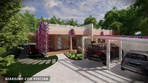 Capitana Is Meris Nuove Ville con Piscina - Ingresso/Giardino