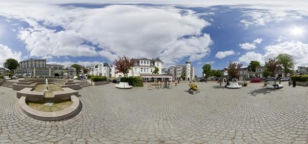 Marktplatz Ahlbeck
