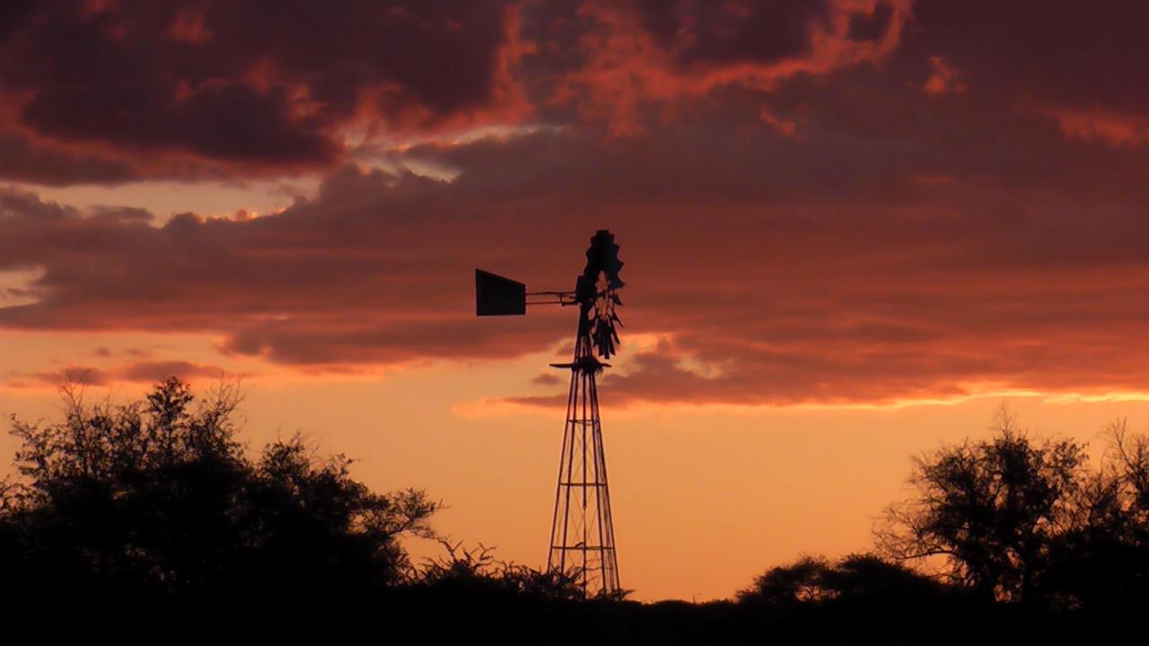 Windmotor für Wasserpumpe